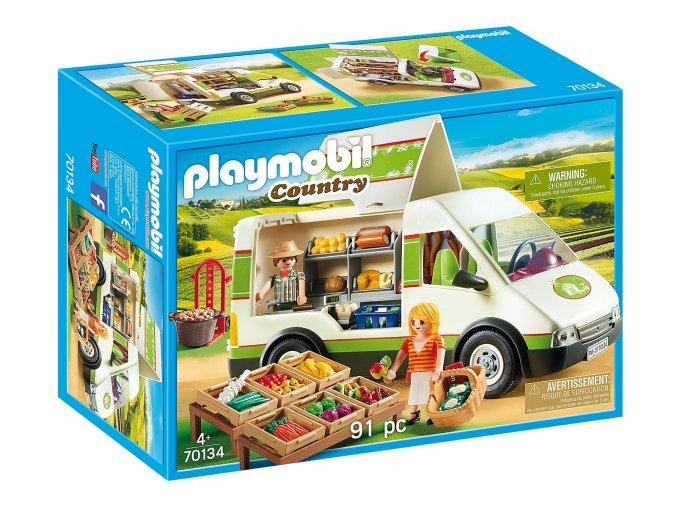 Playmobil 70134 Pojízdná farmářská prodejna