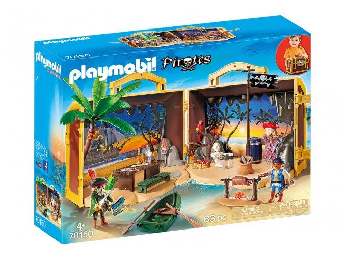 Playmobil 70150 Přenosný pirátský ostrov