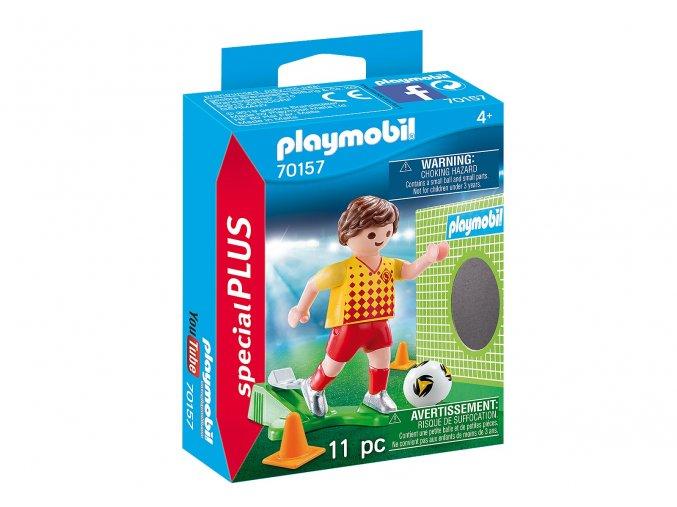 Playmobil 70157 Fotbalista s brankou