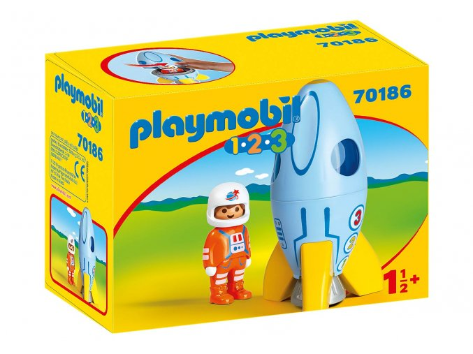 Playmobil 70186 Astronaut s raketou