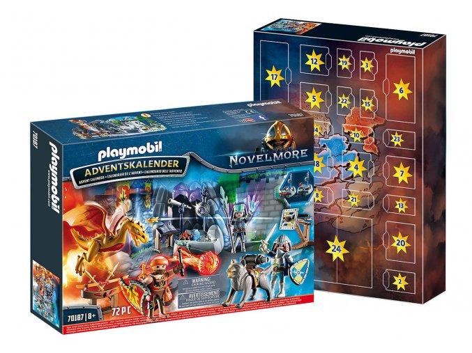 """Playmobil 70187 Adventní kalendář """"Boj o magický kámen"""""""