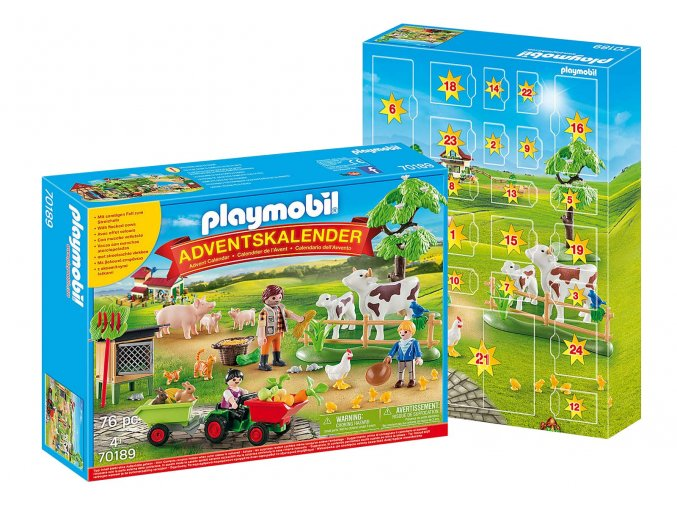 Playmobil 70189 Adventní kalendář Farma