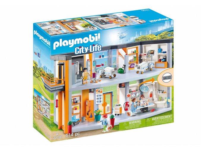 Playmobil 70190 Velká nemocnice s vybavením