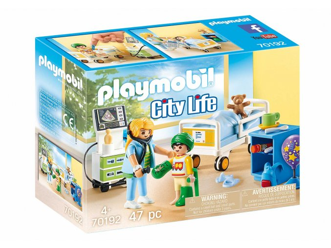 Playmobil 70192 Dětský nemocniční pokoj