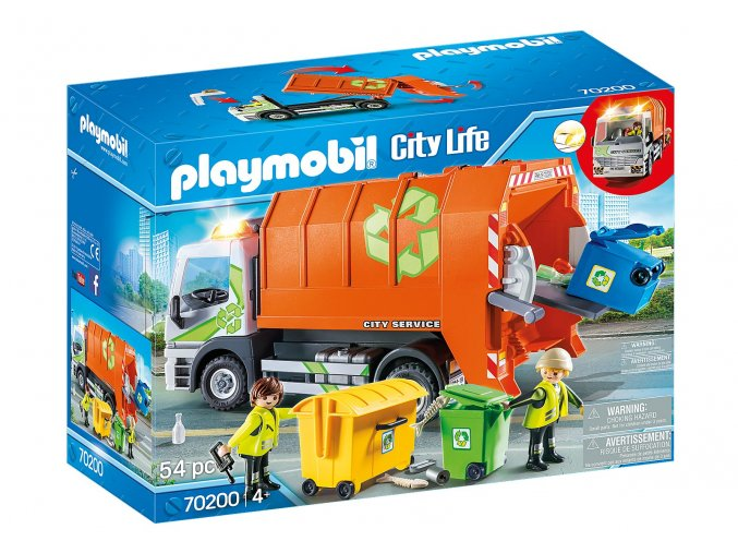 Playmobil 70200 Popelářské auto