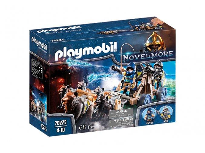 Playmobil 70225 Novelmorské vlčí spřežení a vodní dělo