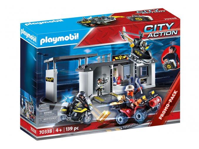 Playmobil 70338 Velká přenosná centrála speciální jednotky