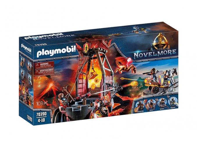 Playmobil 70390 Burnhamská lávová jeskyně