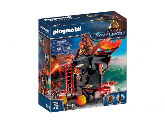 Playmobil 70393 Burnhamské ohnivé beranidlo