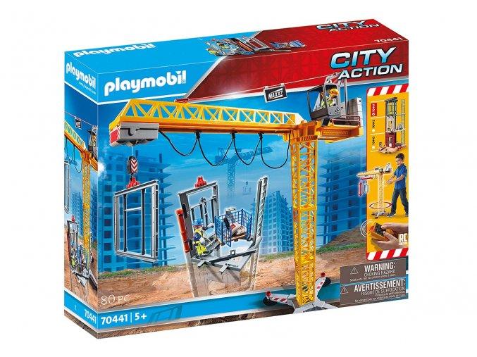 Playmobil 70441 Stavební jeřáb na dálkové ovládání