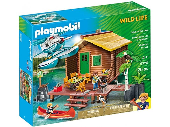 Playmobil 9320 Dovolená v chatě u jezera