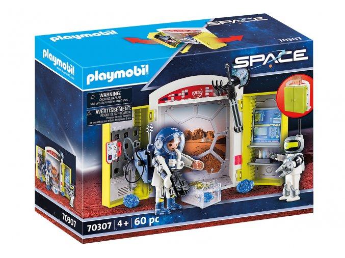 Playmobil 70307 Hrací box - Mise na Marsu