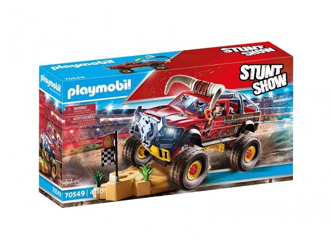 Playmobil 70549 Kaskadérská show Monster Truck Bull