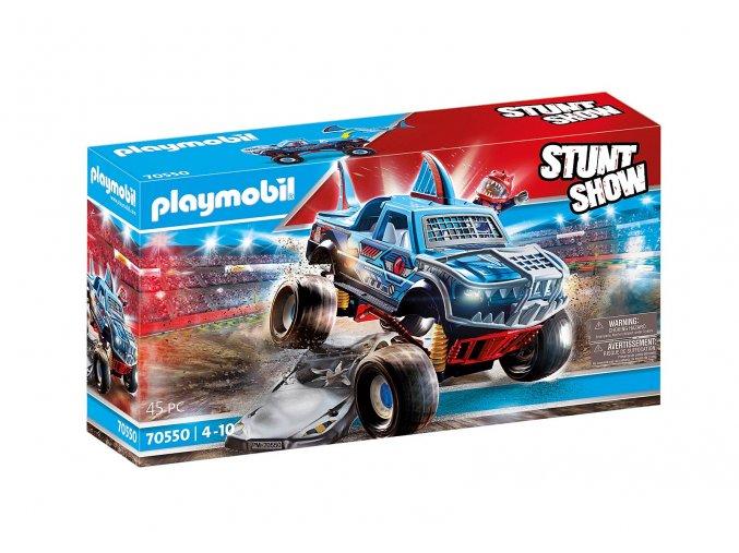 Playmobil 70550 Kaskadérská show Monster Truck Shark