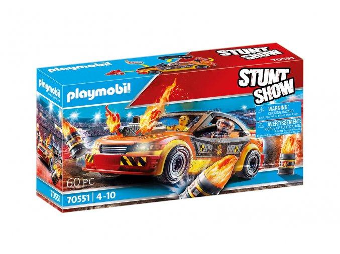 Playmobil 70551 Kaskadérská show Crashcar