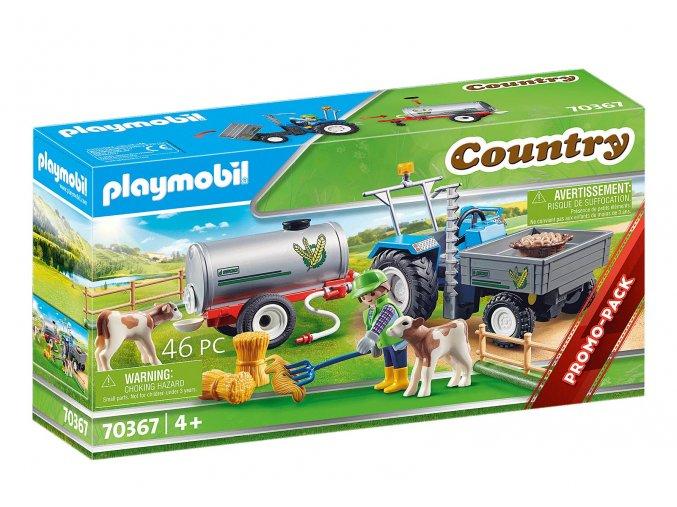 Playmobil 70367 Traktor s cisternou