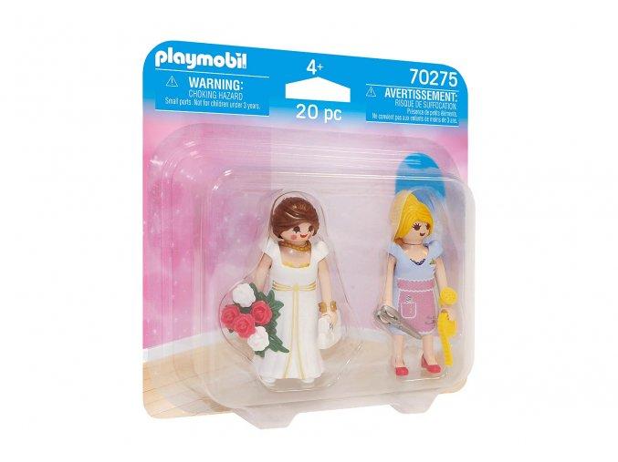 Playmobil 70275 DuoPack Nevěsta a švadlena