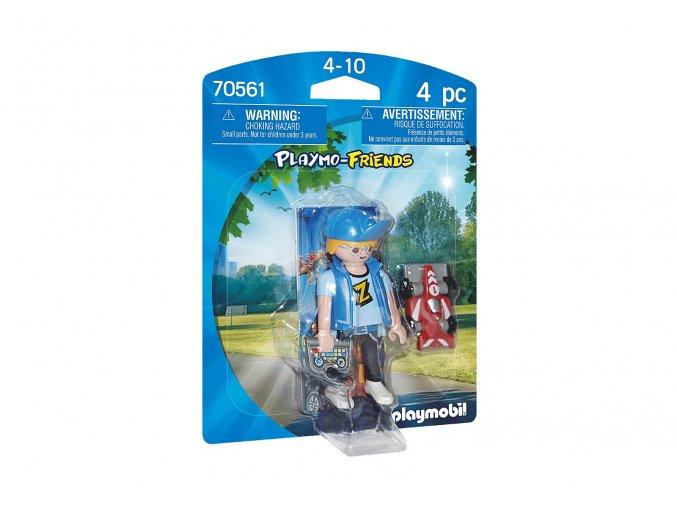 Playmobil 70561 Teenager s autem na dálkové ovládání