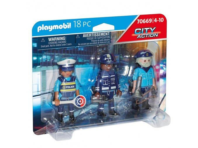 Playmobil 70669 Set figurek Policie