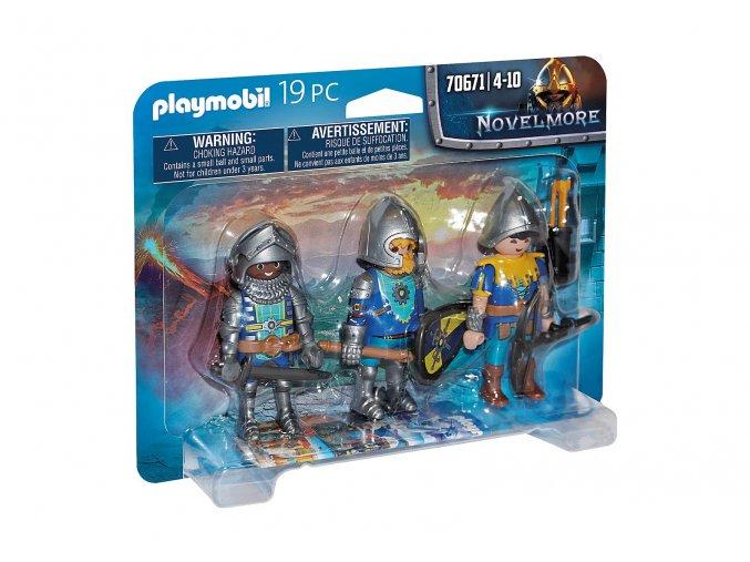 Playmobil 70671 Trojice rytířů z Novelmore