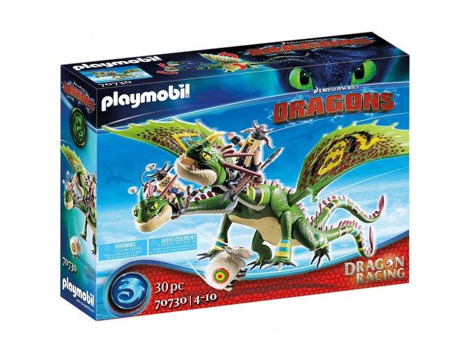 Playmobil 70730 Dragon Racing: Rafana a Ťafan s Krkounem a Blivounem