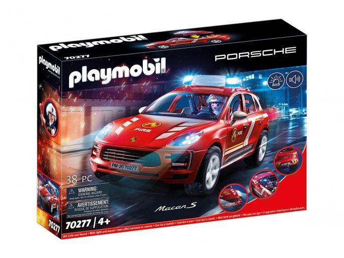 Playmobil 70277 Porsche Macan S Hasiči