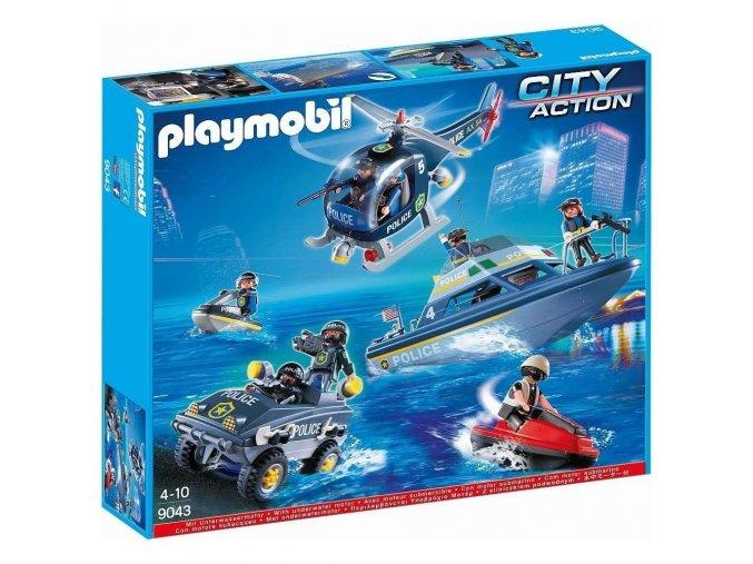 Playmobil 9043 Velká policejní akce