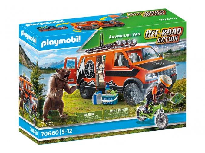 Playmobil 70660 Dobrodružná dodávka