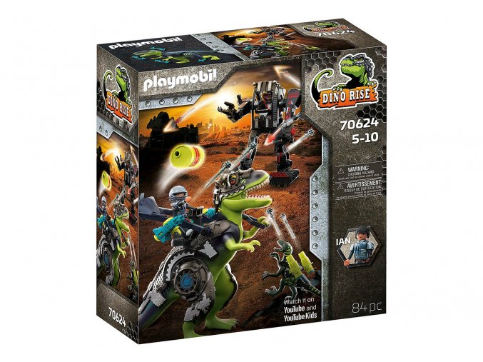 Playmobil 70624 T-Rex: Souboj gigantů