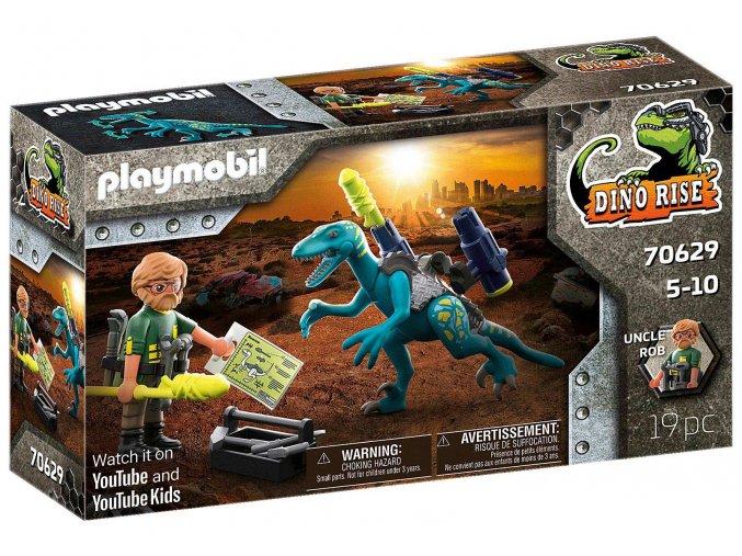 Playmobil 70629 Strýček Rob: Výzbroj do boje
