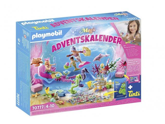 """Playmobil 70777 Adventní kalendář """"Zábava ve vodě - Mořské panny"""""""