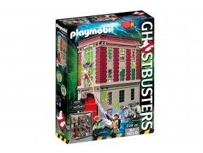 Playmobil 9219 Ghostbusters - Požární zbrojnice
