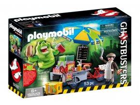 Playmobil 9222 Ghostbusters - Slimer u stánku s hotdogy