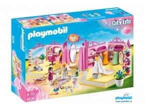 Playmobil 9226 Prodejna svatebních šatů a salón