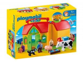 Playmobil 6962 Moje první přenosná farma 1.2.3