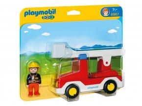 Playmobil 6967 Hasičské auto 1.2.3