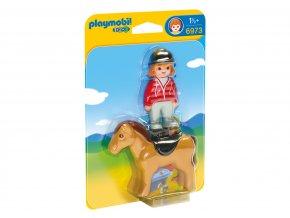 Playmobil 6973 Jezdkyně s koněm 1.2.3