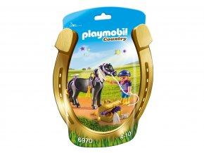 Playmobil 6970 Zdobení poníků - Hvězdička