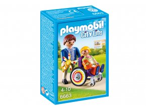 Playmobil 6663 Dítě na vozíku