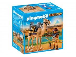 Playmobil 5389 Egyptský bojovník s velbloudem
