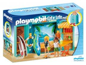 Playmobil 5641 Box na hraní - Obchod s potřebami na surfování