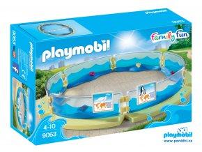 Playmobil 9063 Bazén pro mořská zvířata