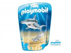 Playmobil 9065 Žralok s mládětem