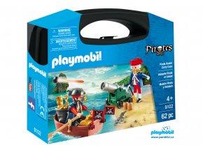 Playmobil 9102 Přenosný box - Pirát a voják