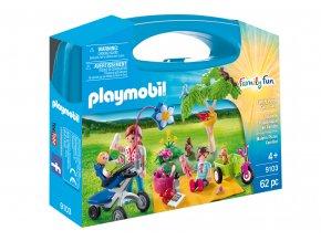 Playmobil 9103 Přenosný box - Rodinný piknik