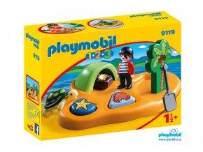 Playmobil 9119 Pirátský ostrov 1.2.3