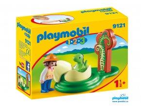 Playmobil 9121 Dinosauří vejce  1.2.3