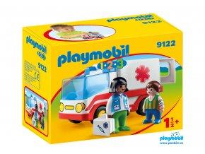 Playmobil 9122 Záchranka  1.2.3