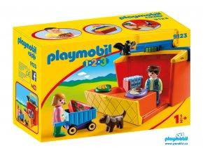Playmobil 9123 Přenosný stánek  1.2.3