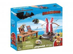 Playmobil 9461 Tlamoun Sopťák s prakem na ovce